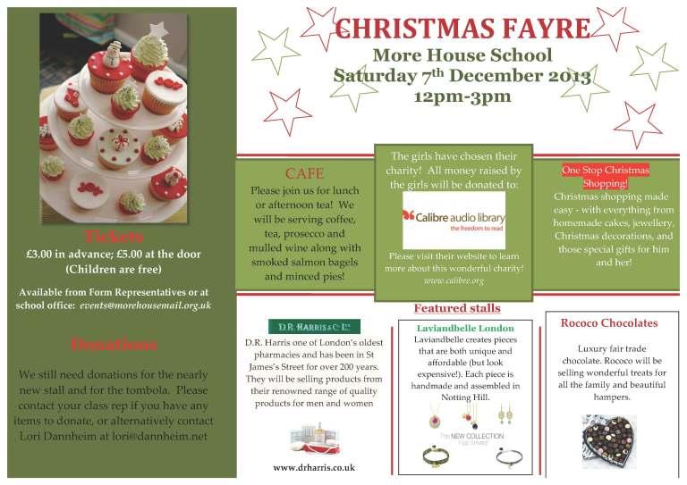 Christmas Fayre Newsletter_2013_1.2