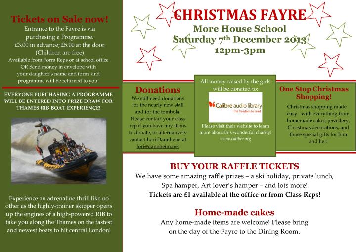 Christmas Fayre Newsletter_2013_3