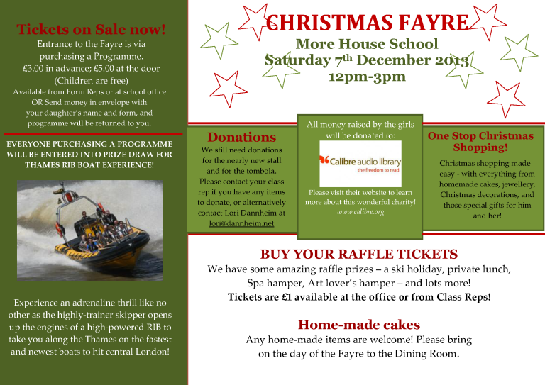 Christmas Fayre Newsletter_2013_3
