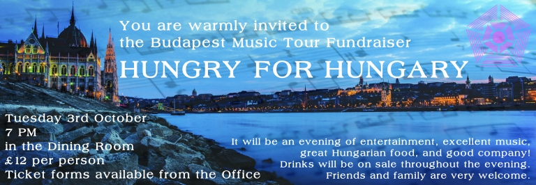 Music Tour Fundraiser Poster