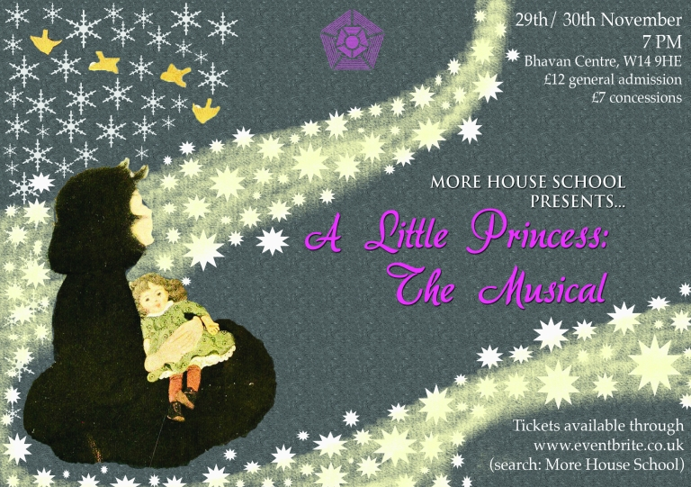 A Little Princess invite