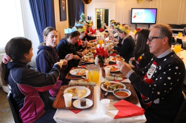 Christmas Lunch 4