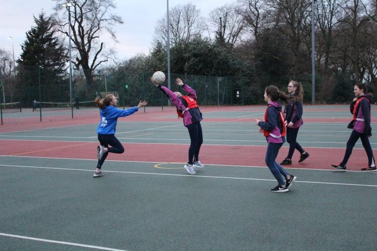 Netball Match 4