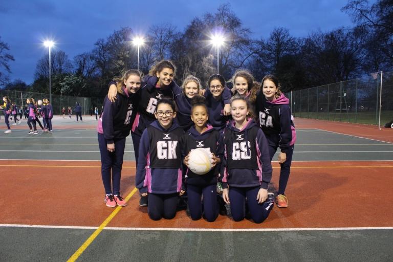Netball Match 8