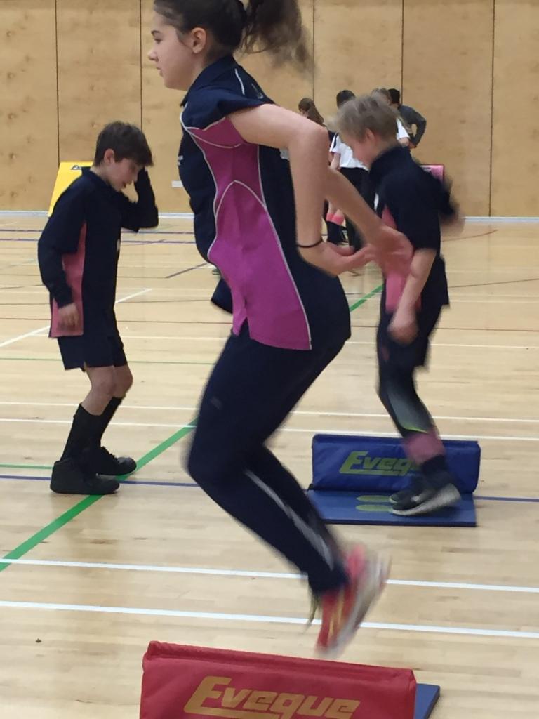 Indoor Athletics 2