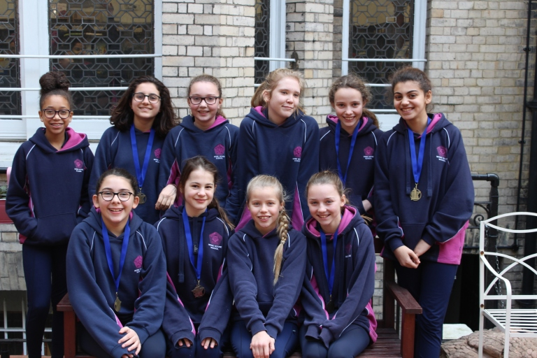Netball Borough Champions 1