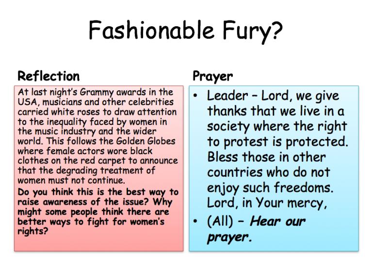 Prayer Views - Fashionable Fury