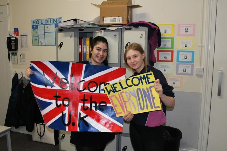 WE Refugee Volunteers 3