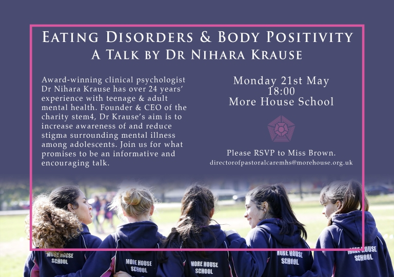 Talk by Dr Nihara Krause