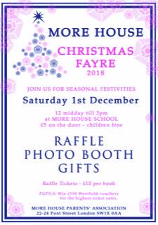 Christmas Fayre Flyer 2018