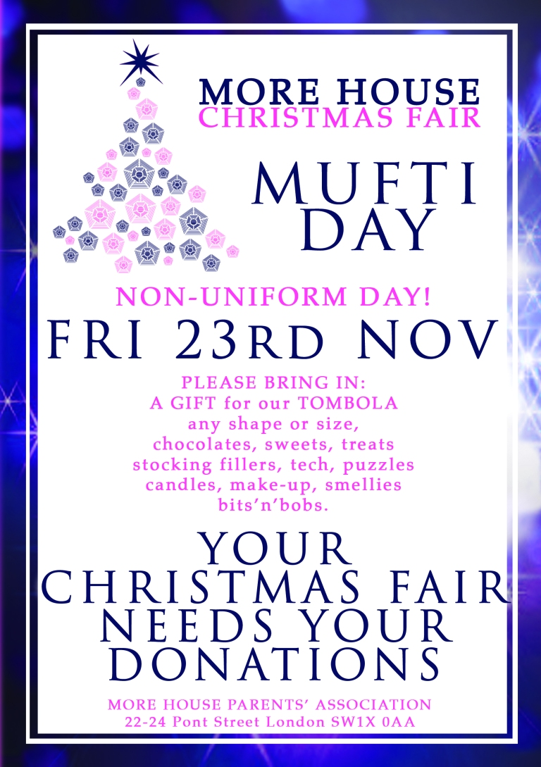 Mufti Day 23rd Nov