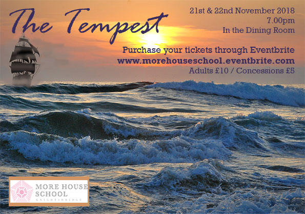 The Tempest Ad Flyer
